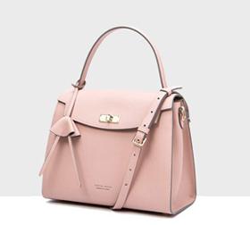 春季推荐新款 单肩包粉色